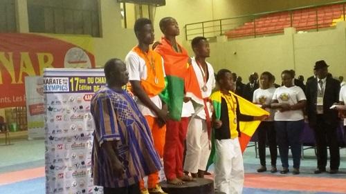 Karaté-Do: Le Burkina, champion d'Afrique de la Zone 3