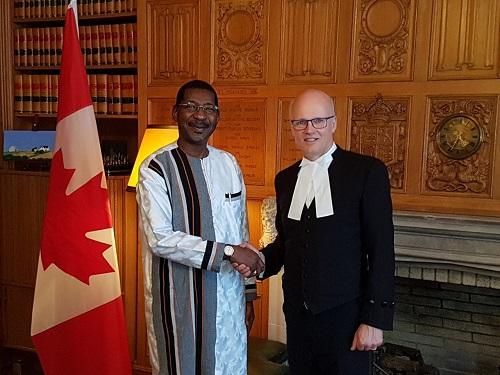 Des députés burkinabè au Canada: Pour un partage des bonnes pratiques parlementaires
