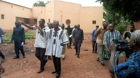Ministère de la Santé: Le Pr Nicolas Méda visite des infrastructures sanitaires à Bobo-Dioulasso
