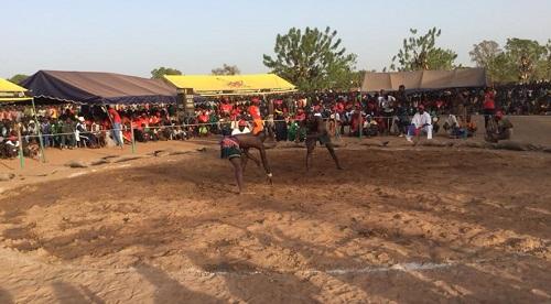 Province du Nayala: La 26ème édition du championnat national de lutte a désigné ses lauréats