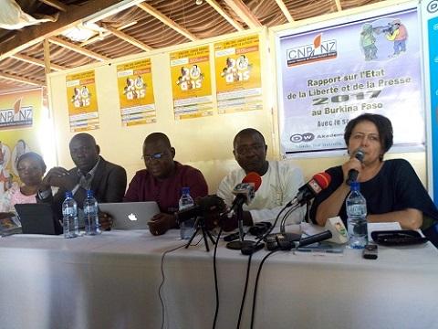 Liberté de la presse 2017: Le Burkina obtient une moyenne de 2,64 sur 4 points, selon le rapport du Centre de presse Norbert Zongo