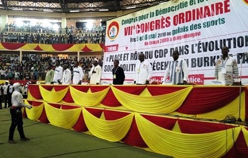 VIIème Congrès ordinaire du CDP: Sous le signe de la cohésion, le CDP «veut aller très loin»