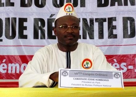 Burkina: Eddie Komboigo reconduit à la tête du CDP pour un mandat de trois ans