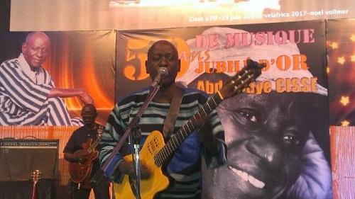 Musique: Abdoulaye Cissé célèbre son Jubilé d'Or