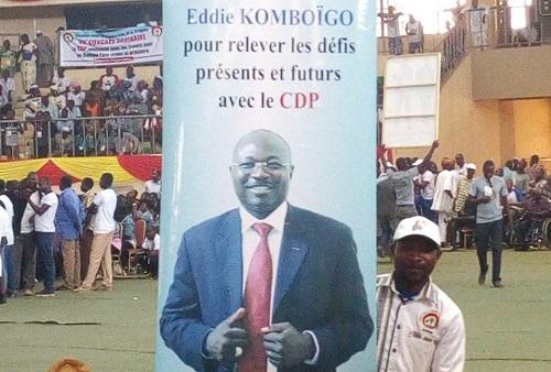 Eddie Komboïgo, président du CDP: «Reconquérir le pouvoir d'Etat est maintenant notre objectif»