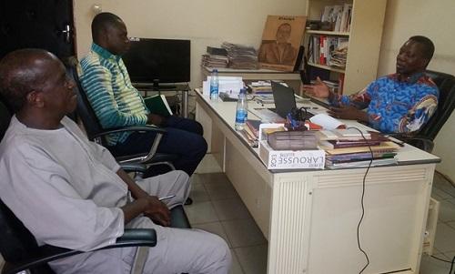 Nous a rendu visite: Le nouveau DG des Editions Sidwaya, M.Mahamadi Tiegna