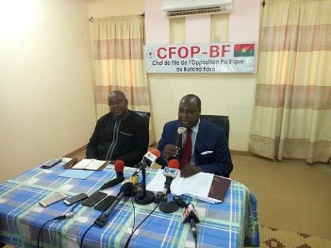 Vie politique nationale: Le CFOP désormais face à la presse chaque mardi