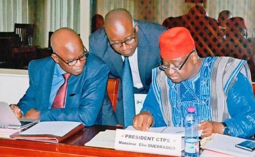 Première réunion de l'année 2018, du Bureau de la Chambre Consulaire Régionale de l'Union Economique et Monétaire Ouest Africaine