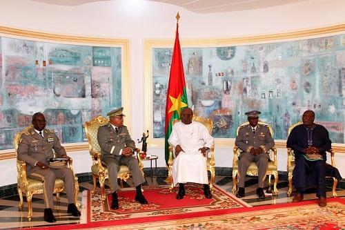 Audiences à Kosyam: Des généraux du G5 Sahel chez Roch Kaboré
