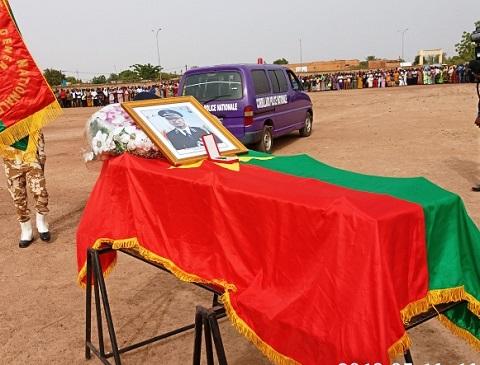 Burkina: Les adieux de la nation au préfet d'Oursi, Patrice Kaboré