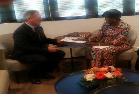 Diplomatie: Joséphine Ouédraogo se présente au directeur exécutif du Programme alimentaire mondial, à Rome