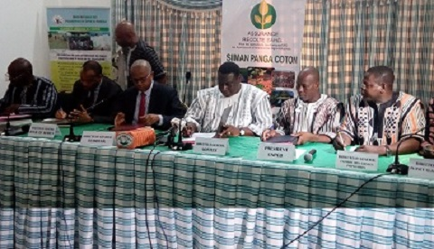 Agriculture: L'assurance-récolte coton pour garantir les revenus des producteurs dans la zone SOFITEX