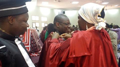 Enseignement supérieur: 127 enseignants-chercheurs promus reçoivent leurs toges