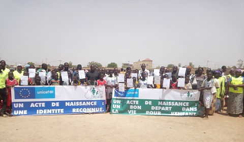 Droits des enfants: Une campagne pour promouvoir l'établissement d'actes de naissance