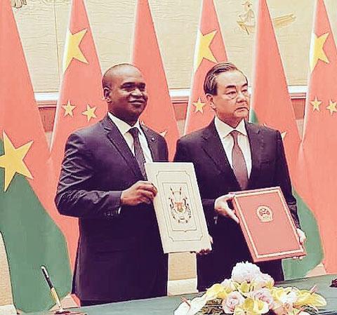 Le Burkina Faso et la République de Chine ont rétabli leurs relations diplomatiques