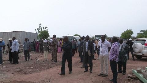 Construction du Centre de contrôle du BUMIGEB à Koubri:  Les travaux avancent bien