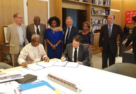 Semaine panafricaine à Nice: Ouagadougou et Nice désormais jumelées
