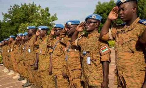 Journée internationale des Casques bleus de l'ONU: Quatre militaires burkinabè seront honorés