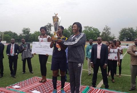 Coupe du Faso Dames: Etincelle brille à Bobo
