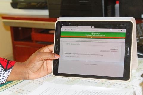 Concours directs de la Fonction publique: Plus de 5 600 inscrits en ligne en trois jours