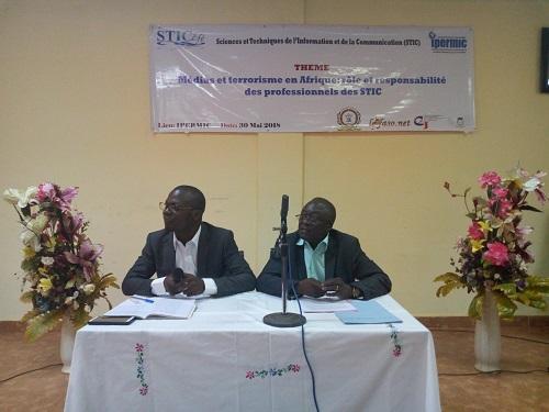Médias et terrorisme en Afrique: Les étudiants de l'IPERMIC informés de leurs rôle et responsabilités