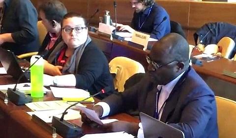 Intervention à la Commission de l'Application des Normes à Genève, du délégué travailleur du Burkina Faso, Bassolma BAZIE SG/CGT-B, sur le cas de la violation de la Convention 87 sur la liberté syndicale et la protection du droit syndical, 1948.