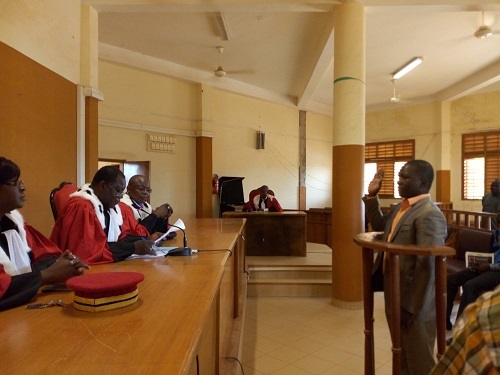 Commission de l'informatique et des libertés: Halidou Rouamba jure de remplir sa fonction avec impartialité et loyauté