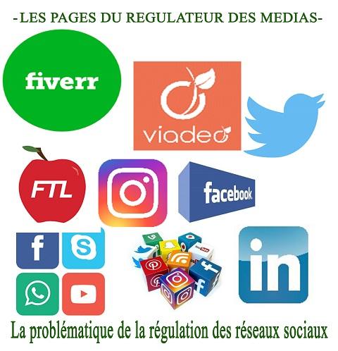 Réseaux sociaux: Un domaine difficile à réguler, selon le CSC