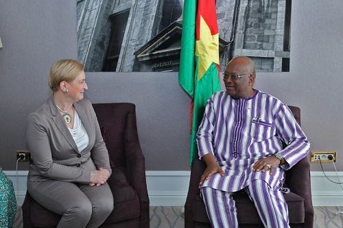 12es Journées européennes du développement: À Bruxelles, le président du Faso discute développement et coopération