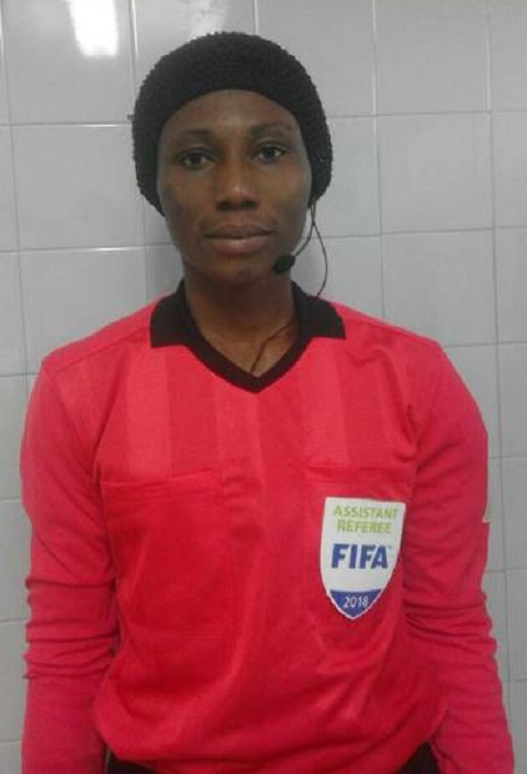 Sport: Elodie Somé, l'étoile montante de l'arbitrage féminin au Burkina