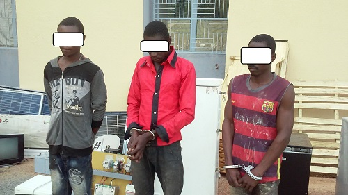 Gaoua: Ils volaient du matériel dans les villas du 11-Décembre