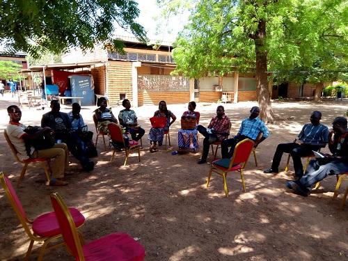 Mise à plat des salaires des agents publics: La Coordination des syndicats de la fonction publique tient un sit-in d'avertissement