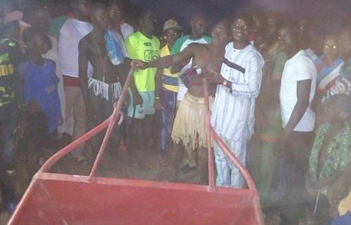Lutte traditionnelle à Biba (Nayala): Yacouba Ki, roi des arènes