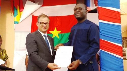 Coopération: Romaric Sondo, nouveau consul de la République tchèque à Ouagadougou