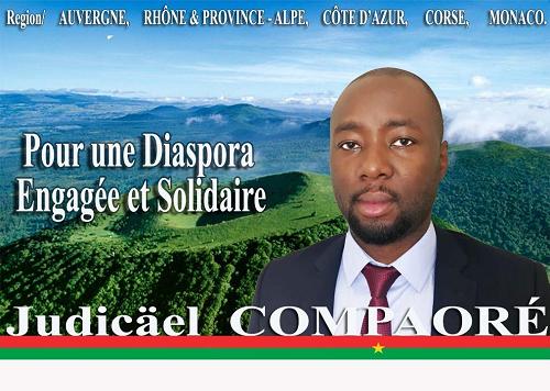 Election des délégués du Conseil Supérieur des Burkinabè de l'étranger (France): Profession de foi de Dr Judicaël COMPAORE