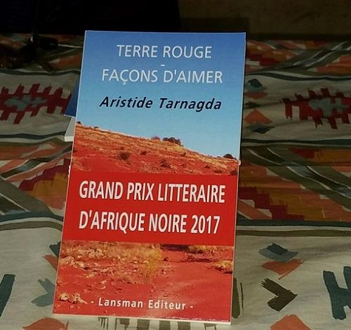 Grand prix littéraire d'Afrique 2017: Aristide Tarnagda honore le Burkina Faso