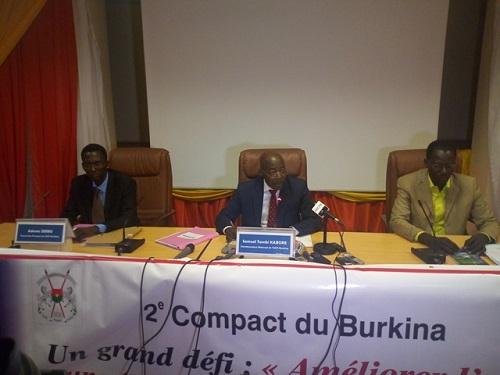 Millenium challenge corporation: L'Unité de coordination de la formulation du second compact présente trois projets à 480 milliards de francs CFA