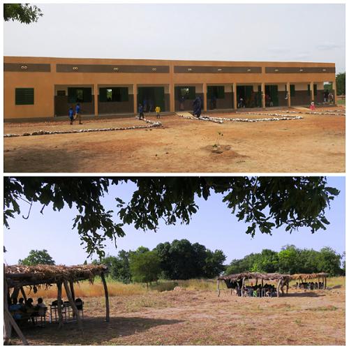 Éducation: le village de Wan fête sa nouvelle école de 50 millions de francs CFA