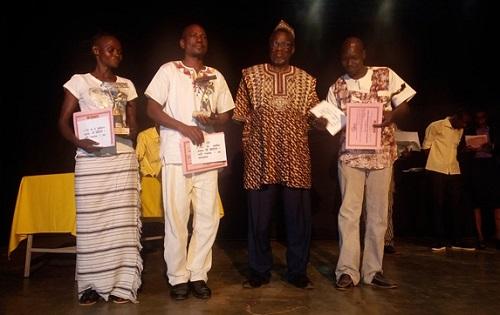 Concours du théâtre-forum 2018: La troupe de Diébougou remporte le 1er prix