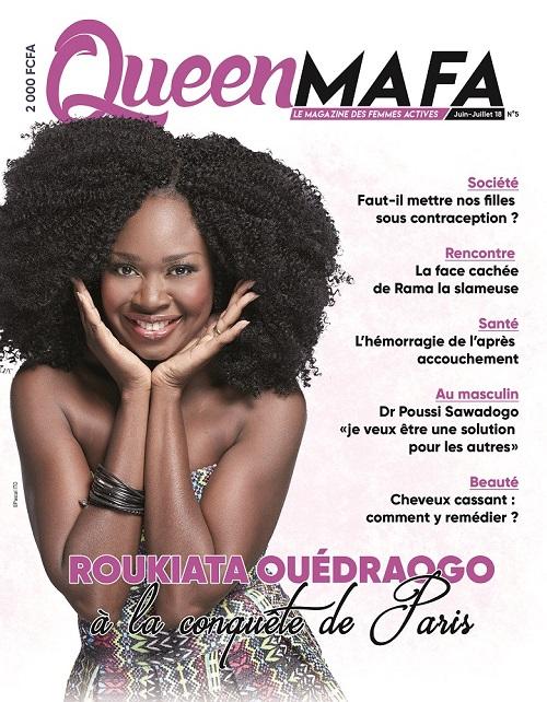 Lisez et faites lire le dernier numéro de   Queen Mafa, le magazine des femmes actives
