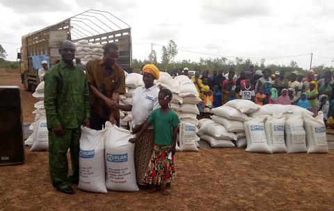 ONG Plan international - Burkina: Un nouveau projet pour améliorer la sécurité alimentaire et nutritionnelle des ménages du Centre-Nord et du Centre-Est