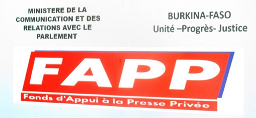 Le Directeur Général du Fonds d'Appui à la Presse Privée (FAPP) invite les organes de presse bénéficiaires de la subvention 2018 à rentrer en possession de leurs chèques