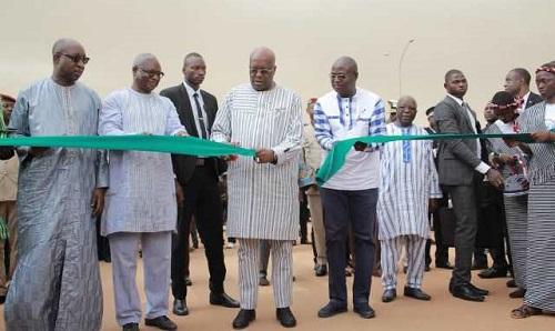 Réalisation d'infrastructures routières: Le président du Faso inaugure la rue Wemba-Poko