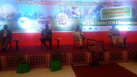 Journées de l'entreprenariat burkinabè (JEB) 2018: L'apport de l'énergie solaire au développement du secteur privé au cœur des échanges
