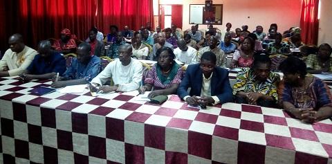 Mariage d'enfants: Les membres de la plateforme multisectorielle résolument engagés à lutter contre le phénomène