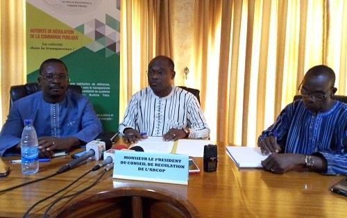 1res Journées de la commande publique: rendez-vous du 12 au 14 juillet 2018 à Bobo-Dioulasso