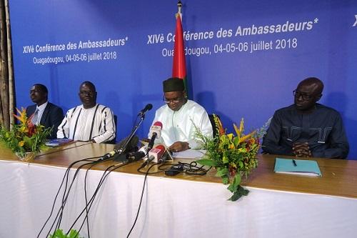 Conférence des ambassadeurs: Des recommandations pour le rayonnement international du Burkina