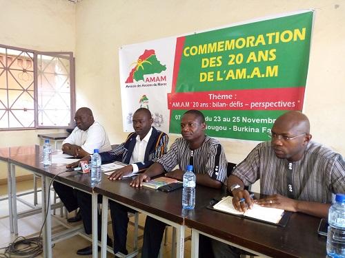 20e anniversaire de l'Amicale des anciens du Maroc: rendez-vous 23 au 25 novembre 2018 à Ouagadougou