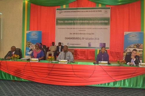 PNDES: Faire du secteur agro-sylvo-pastoral un facteur du «décollage économique du Burkina»