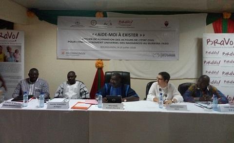 Enregistrement des naissances: La Communauté Sant'Egidio renforce les capacités des agents de l'état civil du Centre-Ouest